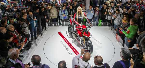 Ducati at the 2019 EICMA show