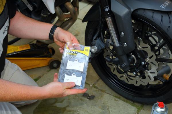 Galfer brake pads fit
