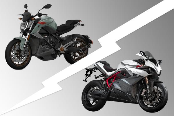 Energica Ego vs Zero SR/F sportsbike
