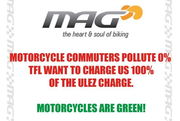 Motorcycle Action Group to hold ULEZ protest ride through London