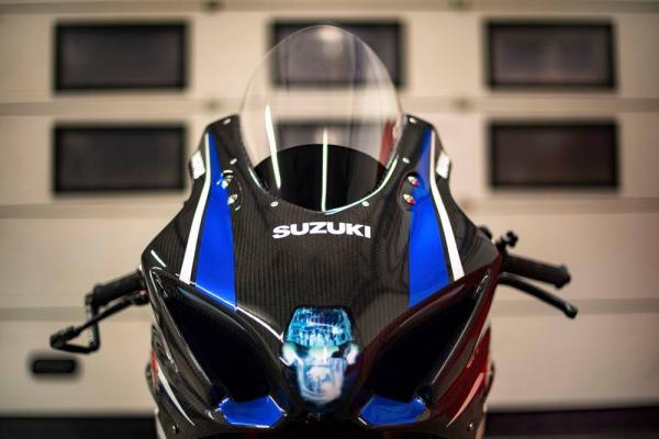 Suzuki Italia GSX-R1000 carbon teaser
