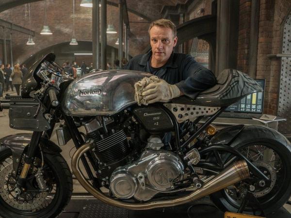 Stuart Garner - Norton Motorcycles
