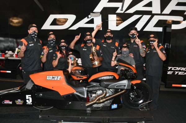Harley-Davidson NHRA racer