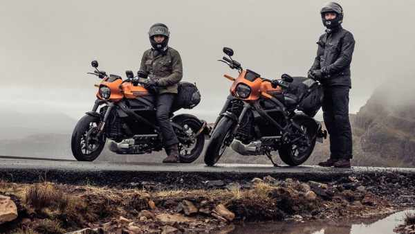 Harley-Davidson Turner Twins LiveWire NC500 adventure