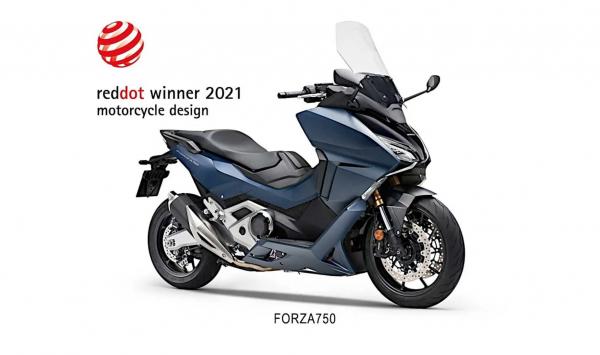 Honda Forza 750 Red Dot Design