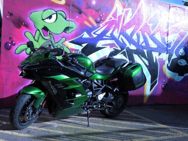 Kawasaki H2 SX SE Review