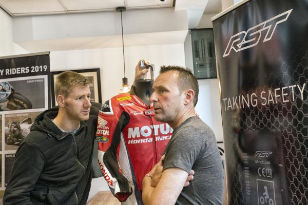 RST Airbag suit w Hutchy and Plater.