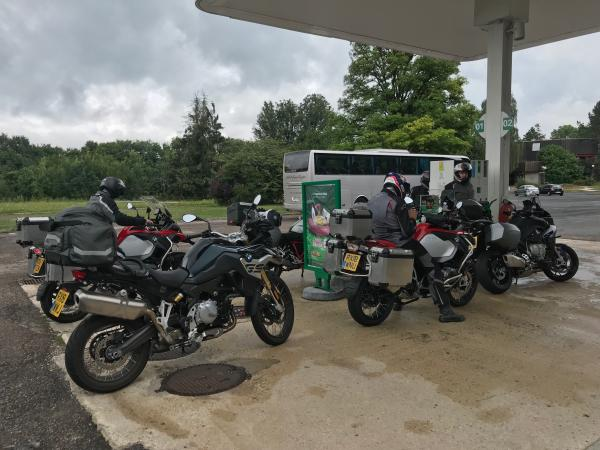 On the road to Garmisch - day one