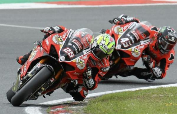 Josh Brookes, Scott Redding [credit: Ian Hopgood]