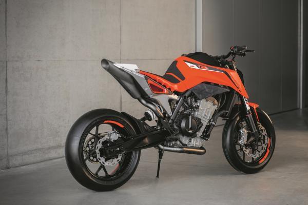 Here's KTM's 790 Duke prototype