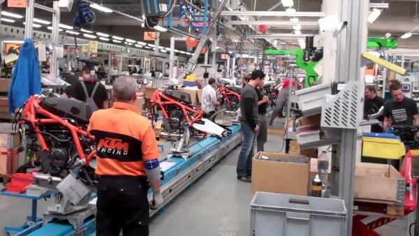 KTM Factory Production
