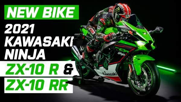 Kawasaki zx10r and RR
