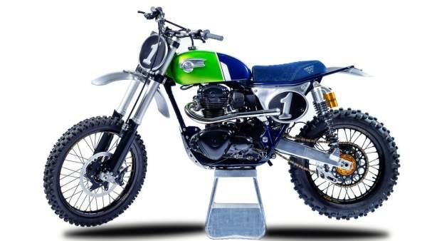 Kawasaki W800 Crosser