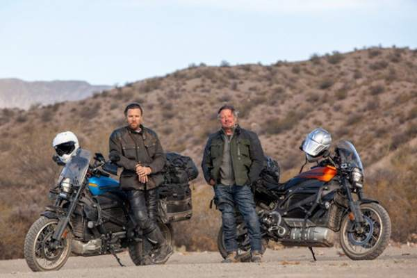 Long Way Up with Ewan McGregor and Charley Boorman