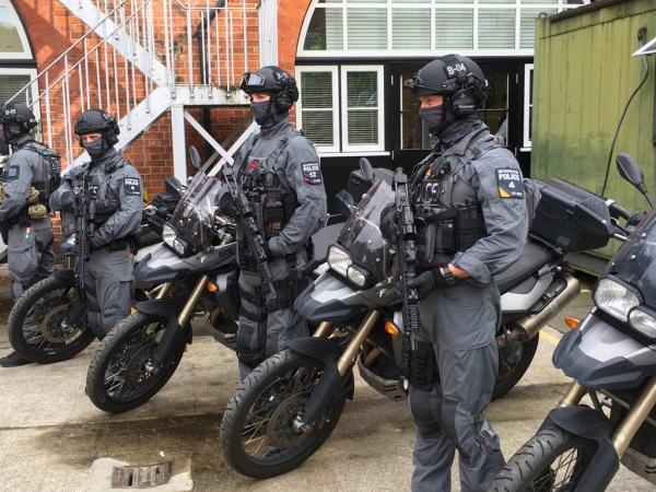 Armed police will use motorcycles in response to a London terror attack