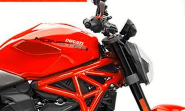 2021 Ducati Monster Kar Lee re-design [credit: @Kardesignconcepts on Instagram]