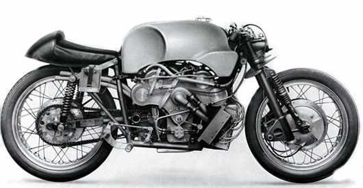 Moto Guzzi Otto V8 racer