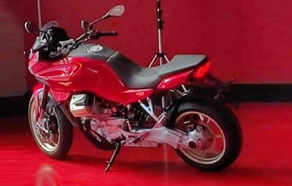 Moto Guzzi V100 leak