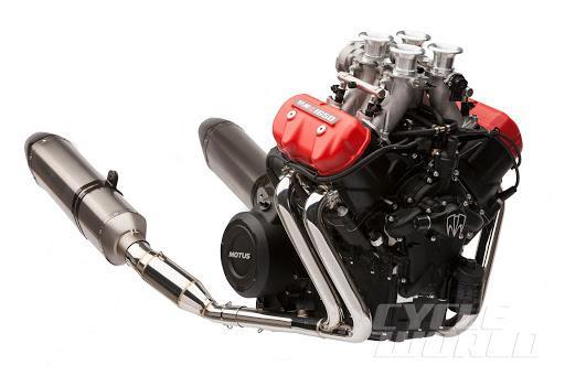 Motus Motorcycle Engine