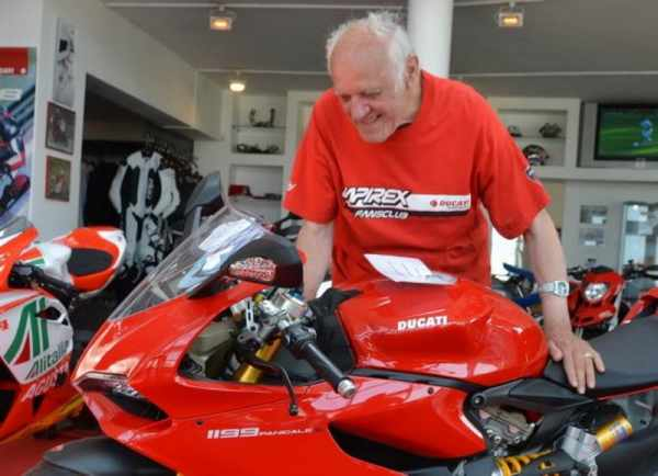 OAP and a Ducati