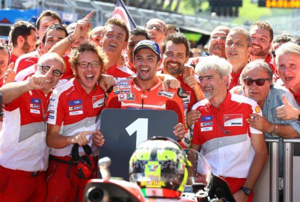 MotoGP Austria - Iannone: This is a magic moment