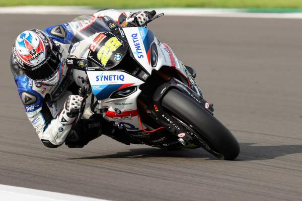 Bradley Ray - Synetiq BMW [credit: Ian Hopgood]