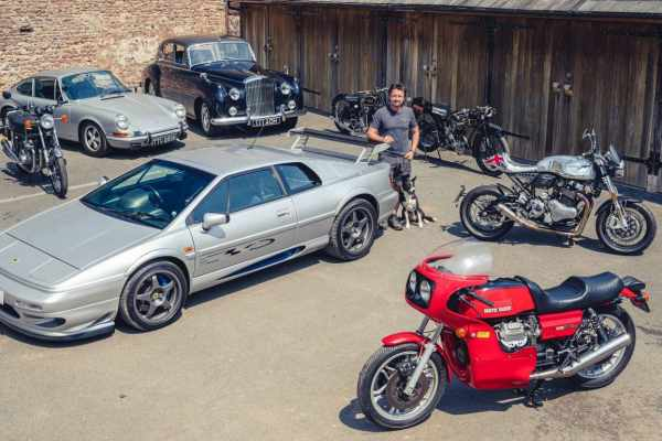 Richard Hammond Classic Motorcycles