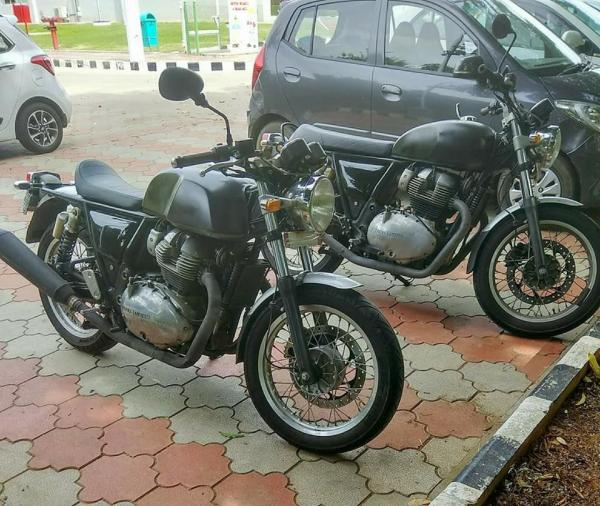 Royal Enfield 750 – best picture yet