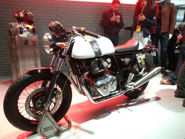 Royal Enfield reveals two new 650 twins at EICMA