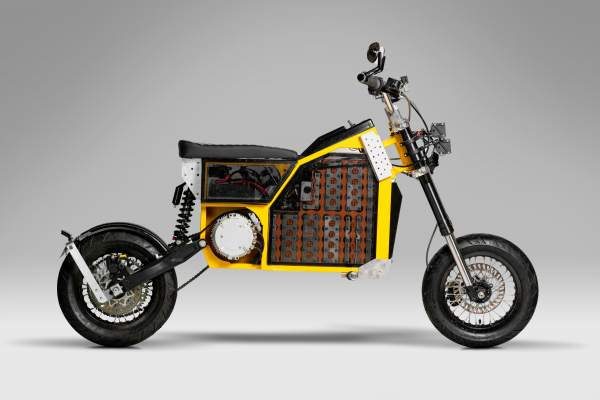 Shednought electric motorcycle