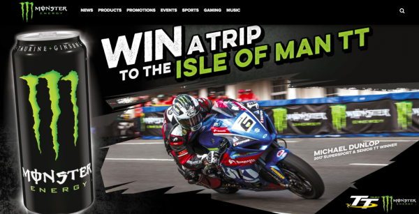 Win a trip to the TT with Monster Energy