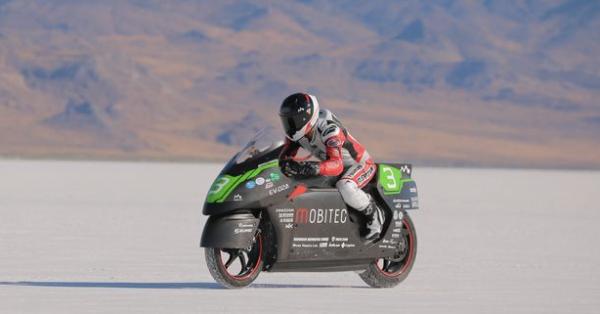 Mobitec Land Speed World Record [Jean Turner]