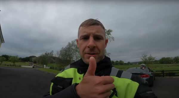 Jonathan Rea passes motorcycle test