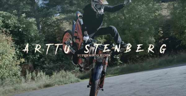 Arttu Stenburg KTM Supermoto Rider