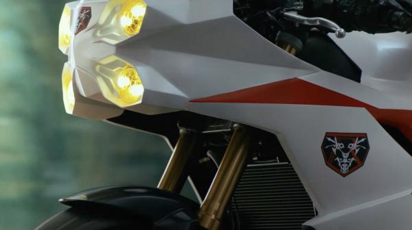 Shin Kamen Trailer Honda