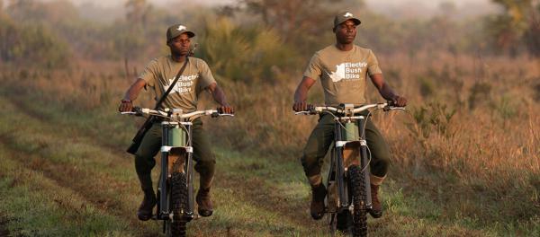 Cake Kalk AP Electric Bush Bike to be used for anti-poaching