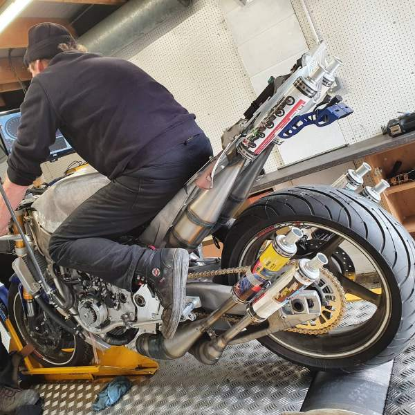 Stan Stephens 1200cc V6 two-stroke motorcycle