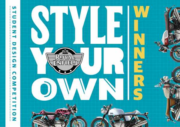 Royal Enfield Style Your Own winners