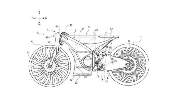 Suzuki hybrid Electric bike concept