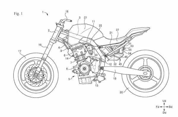 suzuki patent shows parallel twin