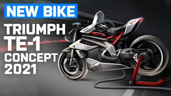 A glimpse at the future - Triumph TE-1 electric motorcycle prototype