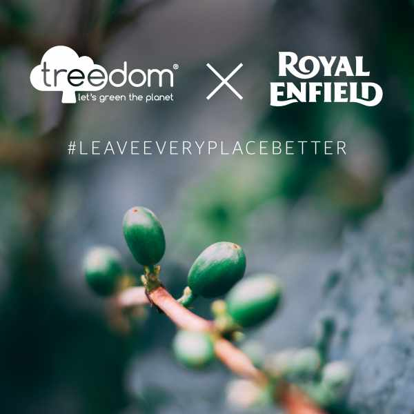 Royal Enfield and Treedom partnership Italy