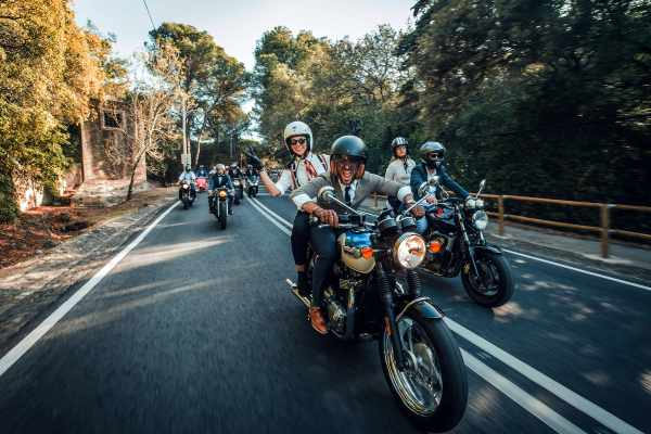 Triumph and Distinguished Gentleman's Ride
