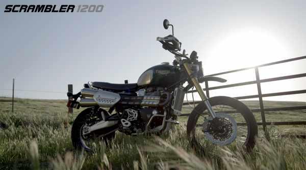 Triumph Scrambler 1200 2021
