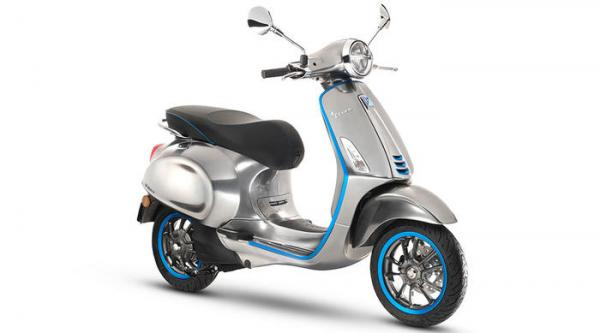 Production to begin on electric Vespa for 2019