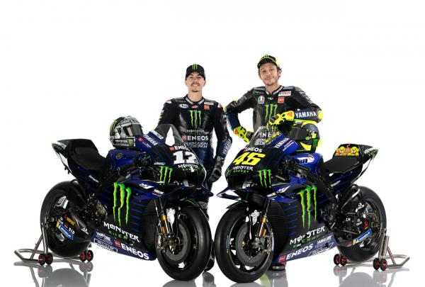 Valentino Rossi, Maverick Vinales - Yamaha MotoGP