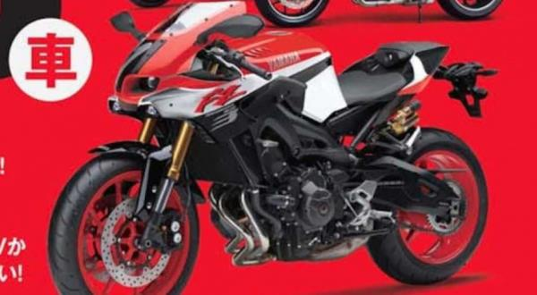 Yamaha MT-09 sportsbike