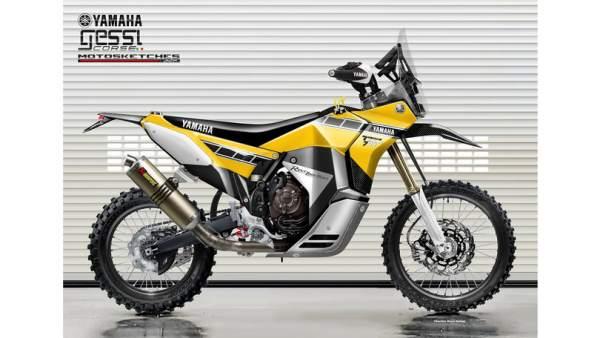 Yamaha Tenere 700 Rally Racer revealed