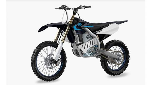 Yamaha electric motocross motorcycle
