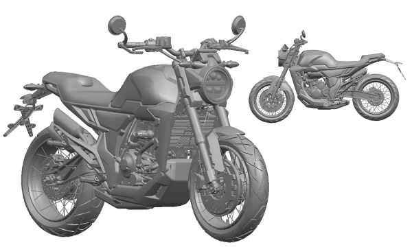 New Zontes 350GK render